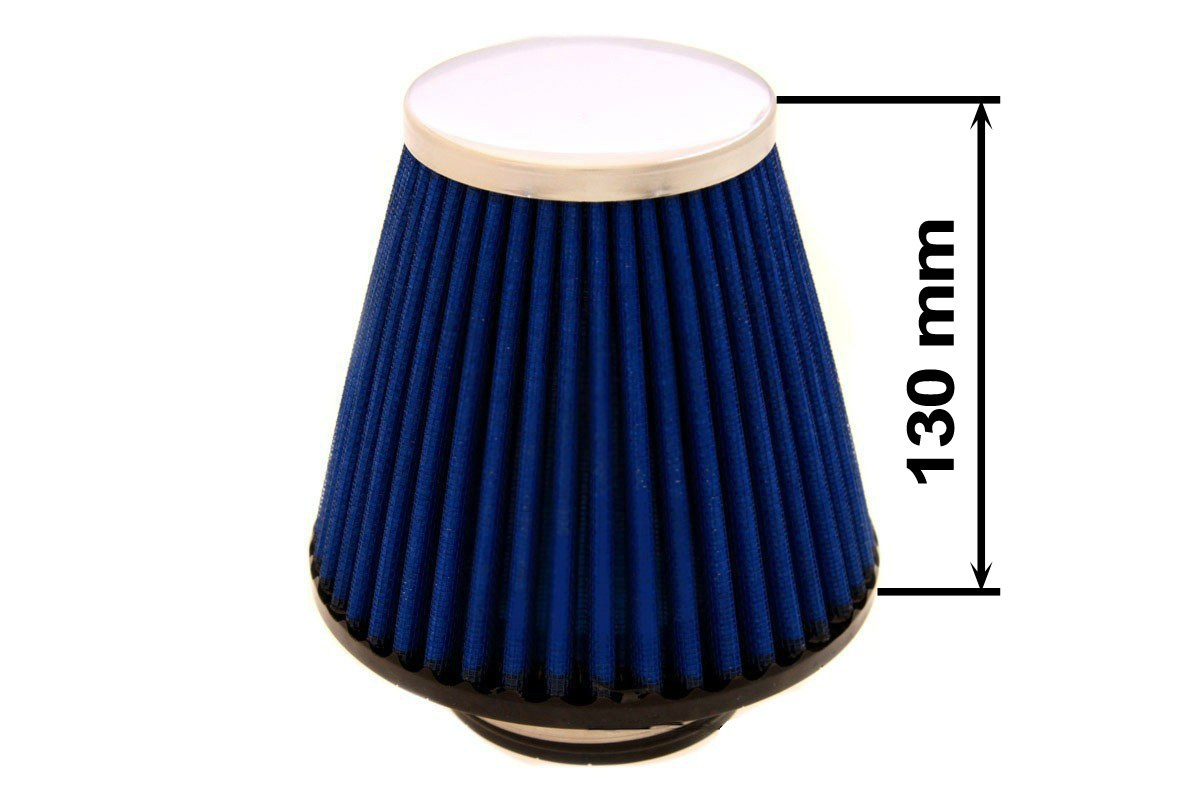 Filtr stożkowy SIMOTA JAU-X02208-05 60-77mm Blue - GRUBYGARAGE - Sklep Tuningowy